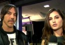 Anthony Kiedis and Megan Olivi
