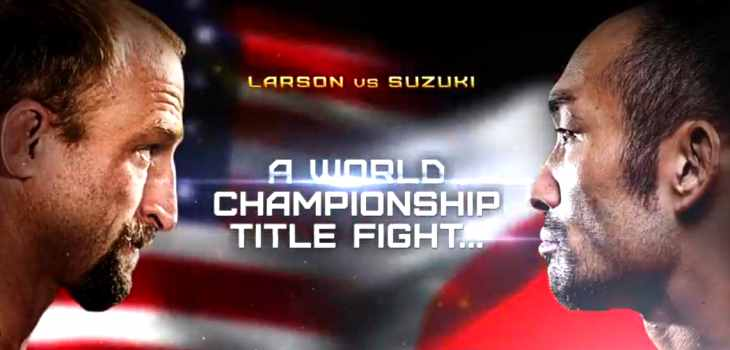 Brock Larson vs Nobutatsu Suzuki