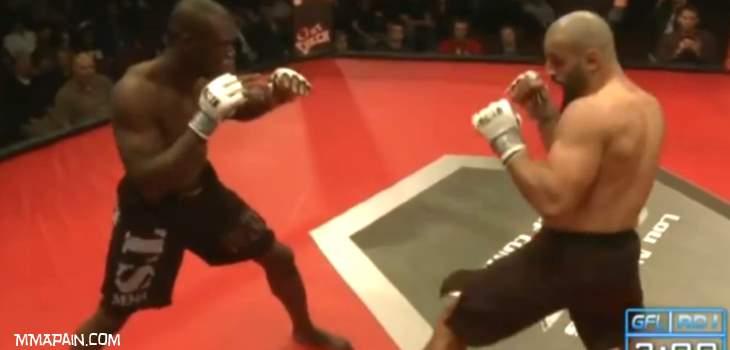 Costas Philippou vs Uriah Hall Fight Video
