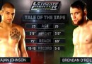 Kajan Johnson vs Brendan O'Reilly TUF Nations ep1