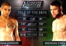 Kajan Johnson vs Brendan O'Reilly TUF Nations ep1