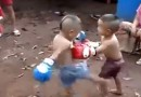 Little Kids Backyard Muay Thai