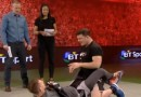 Michael Bisping and Luke Barnatt BT Sport