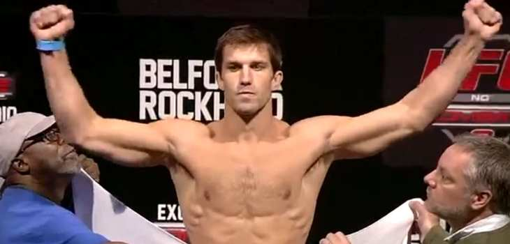 Rockhold vs Philippou  Weigh-in Video