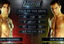TUF Nations EP 2 video Theodorou vs Saliba