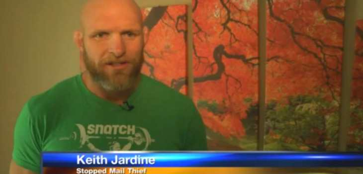 mail thief keith jardine