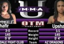 Marina Shafir vs Nicole Upshaw fight video