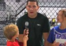 Pint-Sized MMA Reporter