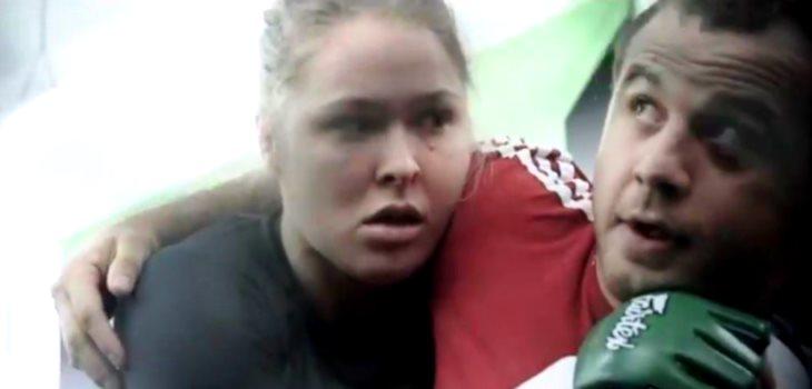 Ronda Rousey and Martin Berberyan