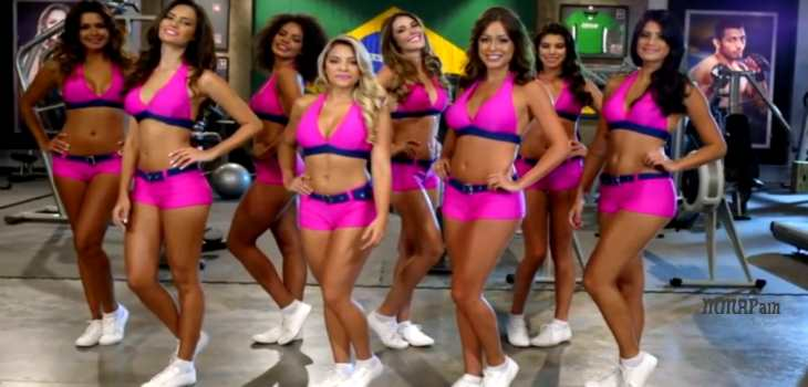 Octagon Girl Contest Brazil
