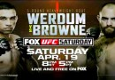 UFC on Fox 11 Werdum vs. Browne
