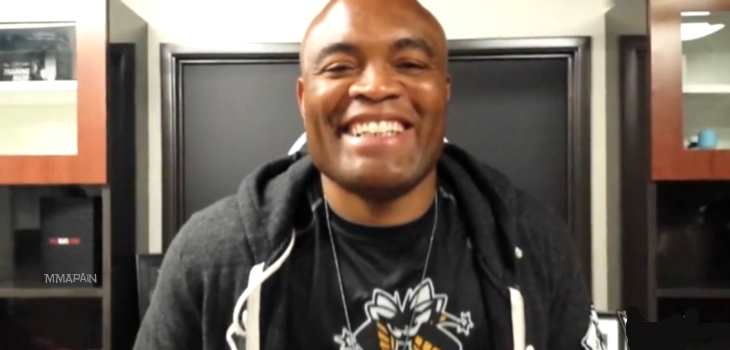 Anderson Silva Smile next fight
