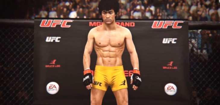 Bruce Le UFC Gameplay