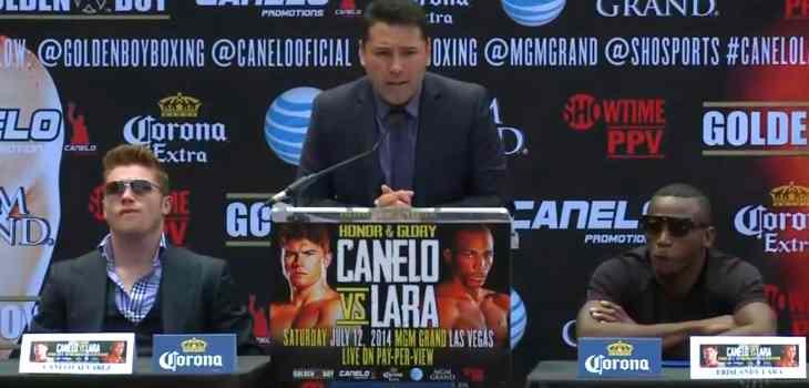 Canelo Alvarez vs. Erislandy Lara presser