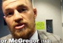 Conor McGregor talks smack