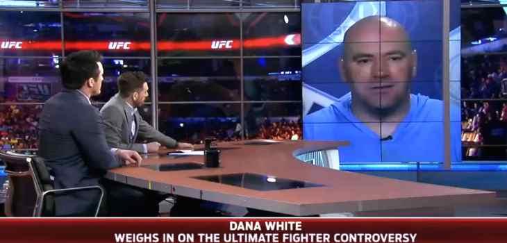 Dana White TUF problems