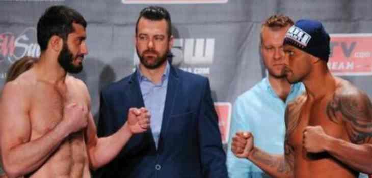 Mamed Khalidov vs Maiquel Falcao Fight Video KSW 27
