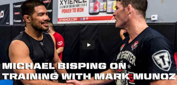 Mike Bisping training