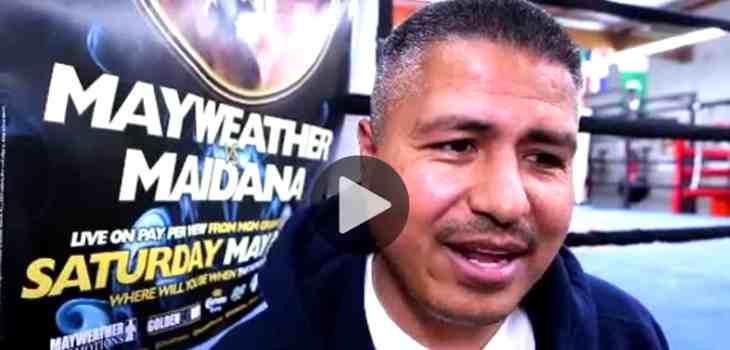 Robert Garcia boxing trainer