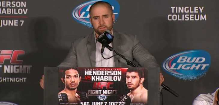 UFC Fight Night 42 Post-fight Press Conference Video