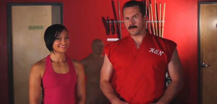 Master Ken And Karate hottie 2