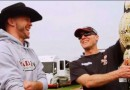 Cowboy Cerrone and Kevin Harvick Daytona