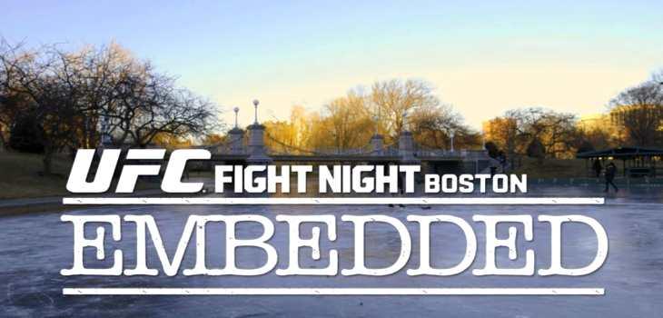 UFC fight night Boston embeded 1-2
