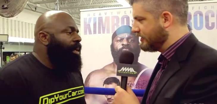 Kimbo Bellator 138 interview