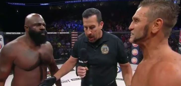 Kimbo Slice vs. Ken Shamrock Fight Video