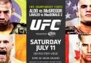 UFC 189 fighter videos