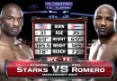 Yoel Romero vs Clifford Starks fight video