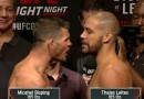 Bisping vs. Leites weigh-in results