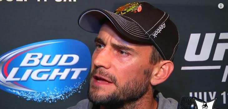 CM Punk MMA chat