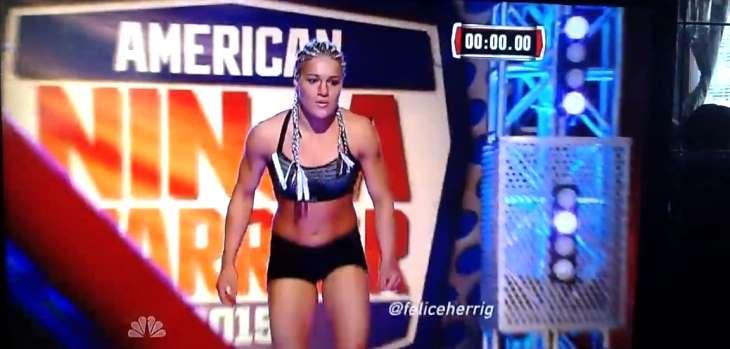 Felice Herrig American Ninja Warrior