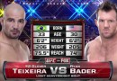 Glover Teixeira vs Ryan Bader fight video