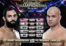 Robbie Lawler vs Johny Hendricks Fight Video