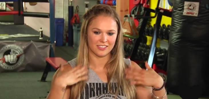 Ronda Rousey conor