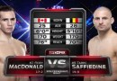 Rory MacDonald vs Tarec Saffiedine Fight Video