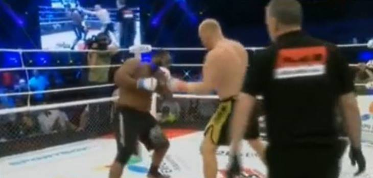Sergei Kharitonov vs Kenny Garner 2 Fight Video