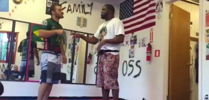 Fake BJJ Black belt