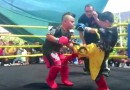 Kids mma fight