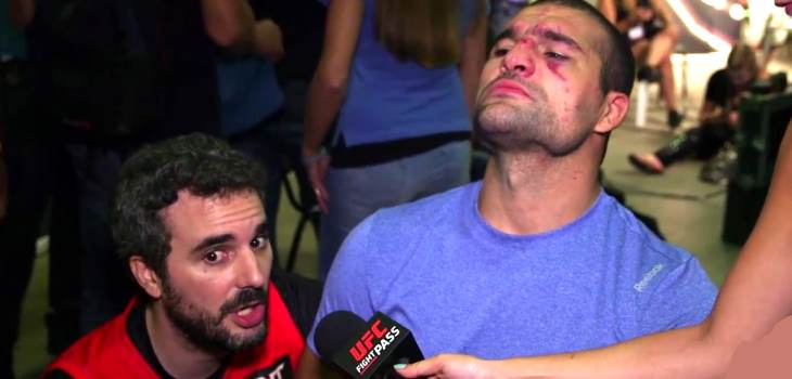 Shogun Rua Backstage Interview