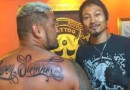 Super Samoan Mark Hunt Tattoo
