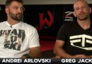 Andrei Arlovski and coach Greg Jackson