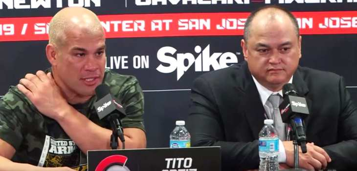 Bellator Dynamite 1 Post-Fight Press Conference Tito and Scott