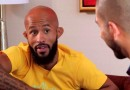 Demetrious Johnson and Ariel Helwani 2015