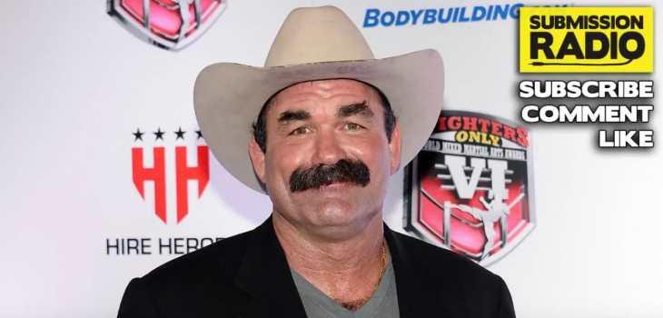 Don Frye mustach