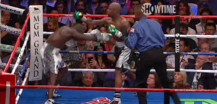 Floyd Mayweather vs. Andre Berto fight video
