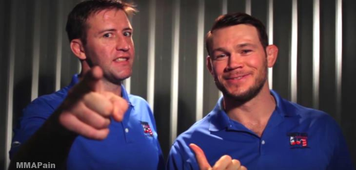Forrest Griffin And Stephan Bonnar 2015
