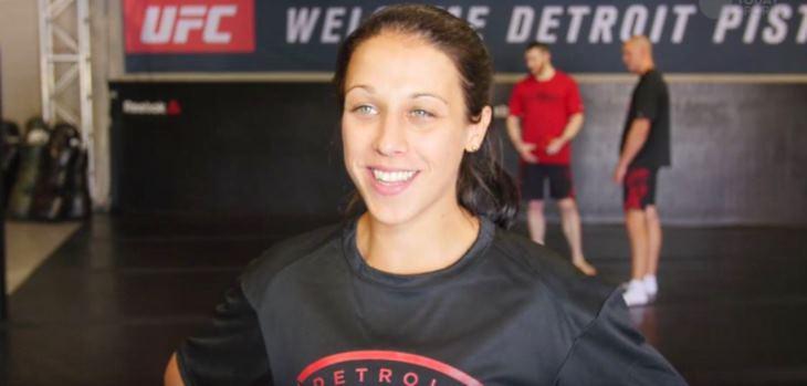 Joanna Jedrzejczyk Detroit